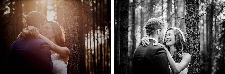 plener slubny w lesie Marta i Michal 005
