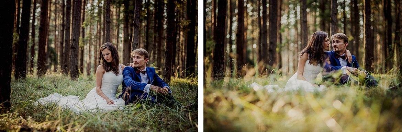 plener slubny w lesie Marta i Michal 009