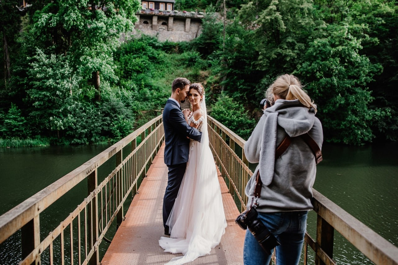 sesja z wesela