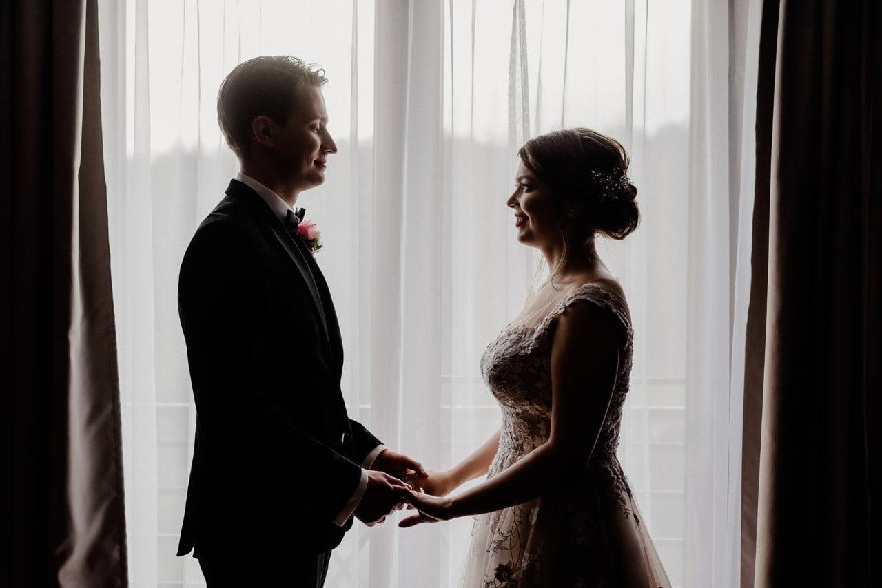 wesele w otoczeniu zieleni slask